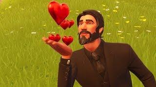 John Wick Falls in Love! (Fortnite Short Film)