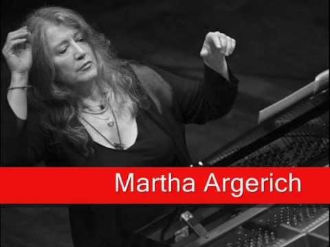 Martha Argerich: Bach - Partita No. 2 In C Minor, Sinfonia