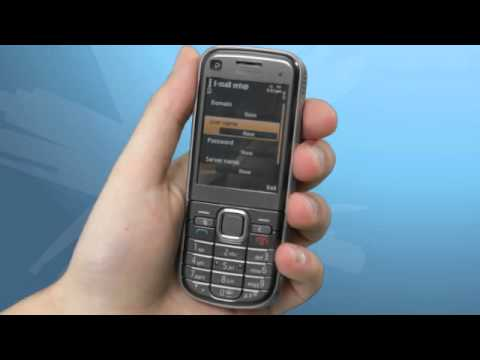 Nokia 6720: How to setup your Email