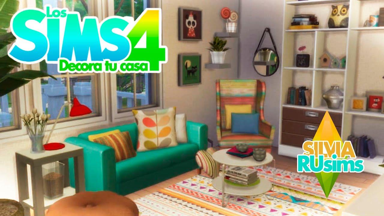 Los sims 4 decora tu casa cap 9 youtube - Como decorar tu casa economicamente ...