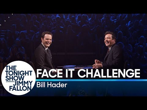 Download Youtube: Bill Hader and Jimmy Fallon Try Not to Break Playing the Face It Challenge