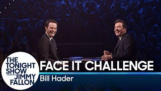 Bill Hader and Jimmy Fallon Try Not to Break Playing the Face It Challenge