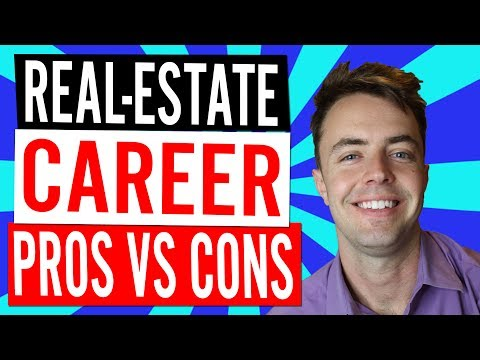 Pros & Cons Of Being A Real-Estate Agent