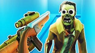 Building the Ultimate Zombie Gun! - Undead Development Gameplay - VR HTC Vive Pro