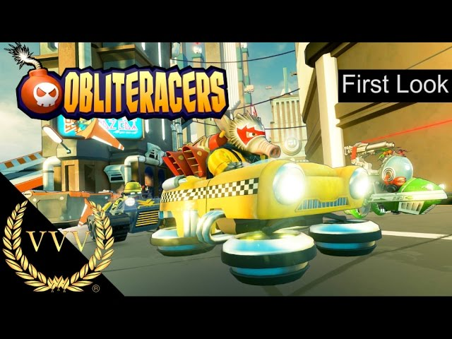 Obliteracers First Look PS4