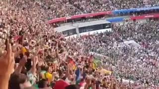 Amazing lagu BTS fake love diputar di piala Dunia Russia