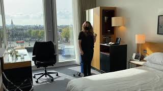 Sales Team Presents Day Use Rooms at DoubleTree by Hilton Amsterdam Centraal Station