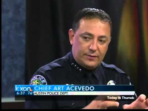 APD Chief Art Acevedo anniversary