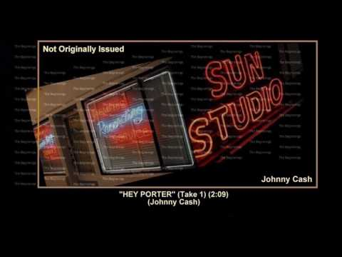 (1955) Sun ''Hey Porter'' (Take 1) Johnny Cash