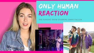 Jonas Brothers Only Human Live - REACTION