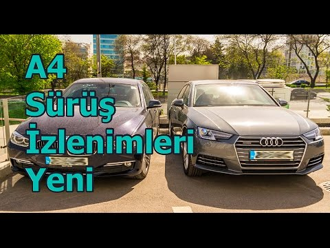 "Audi A4 Yeni 2016 2.0TDi Quattro ""TR"