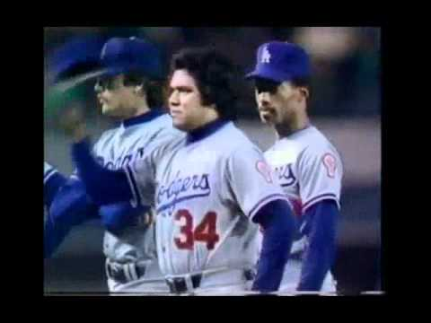 1981 World series Introduct Los Angeles Dodgers