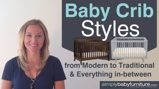Nursery Design - Baby Crib Styles From Modern To Traditional - Find The Best Baby Crib - Part 3 Of 4
