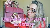 Unboxing Sacs Ali Express La Festin Youtube