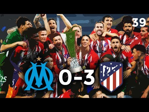 Olympique marseille vs atletico madrid 0-3 - 16.05.2018 - griezmann x2, gabi