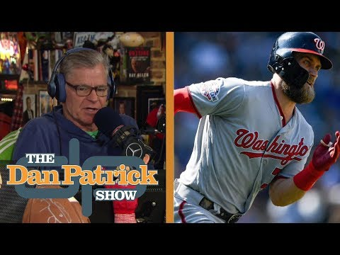 Factors that prolonged Bryce Harper's decision | The Dan Patrick Show | NBC Sports
