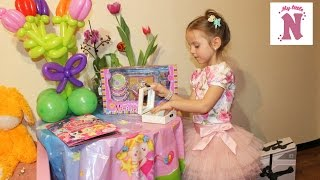 ВЛОГ Шоппинг в детском магазине Красивое платье для Насти украшения в шкатулке Катаемся на самокате