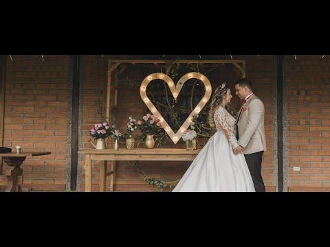 Video de boda espectacular | Luis y Sary | Video de boda Medellín | Eventos Las Antillas | Bodas 4K