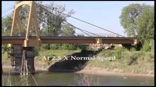 meridian swing bridge in action