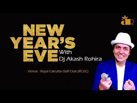 Dj Akash Rohira Live - RCGC - New Years Eve 2013