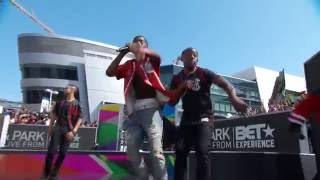 Christian Combs Performs at BET Experience With Surprise Performance by Diddy