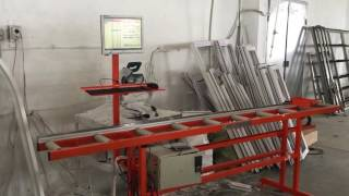 Автоматическая измерительный рольганг ленточные конвейеры вертикальные