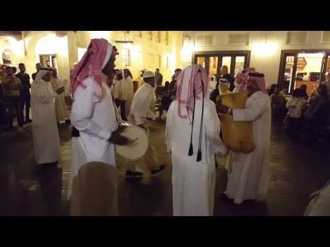 Live Arabic Music at Souq Waqif in Doha Qatar