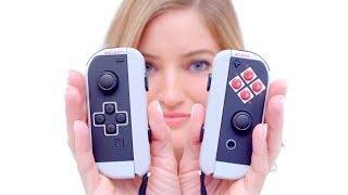 Classic NES Themed Nintendo Switch Joy-Cons!