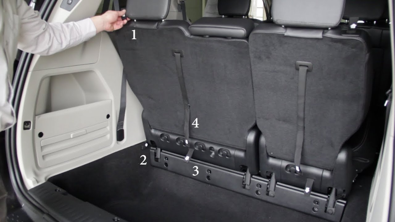2015 chrysler town and country stow and go operation youtube. Black Bedroom Furniture Sets. Home Design Ideas