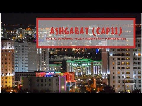 Ashgabat, la capital del mármol blanco [CAP11 TURKMENISTÁN]