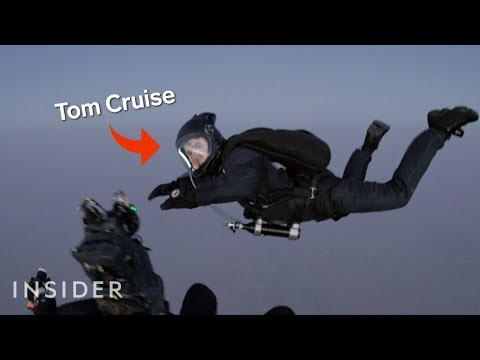 How Tom Cruise Was Filmed Jumping Out Of A Plane In \'Mission: Impossible — Fallout\'