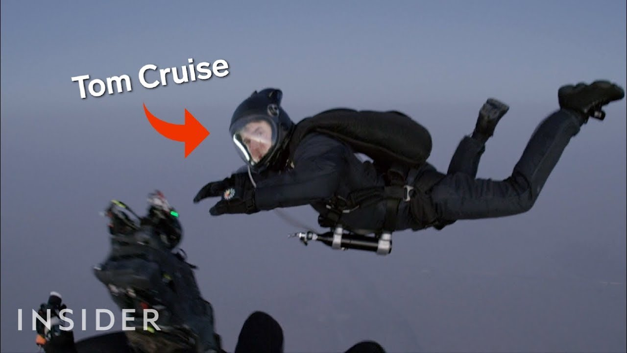 How Tom Cruise Was Filmed Jumping Out Of A Plane In Mission Impossible Fallout Movies Insider Youtube
