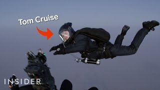 How Tom Cruise Was Filmed Jumping Out Of A Plane In