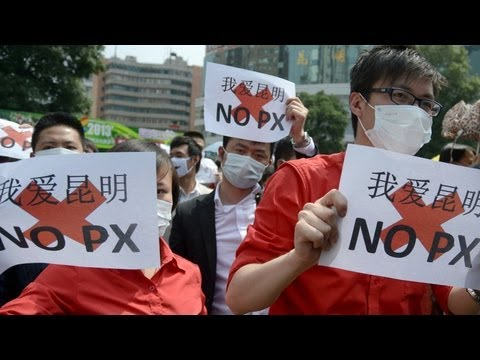 """Chinese Police Crackdown on Planned Protest with """"Earthquake Drill"""""""