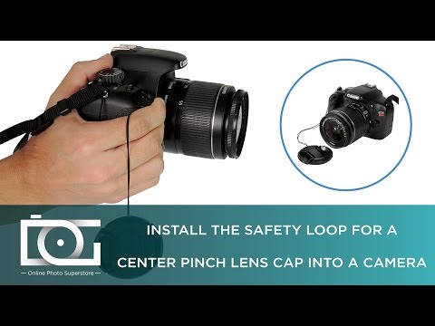 TUTORIAL | Lens Cap Keeper Leash & Center Pinch Lens Cap | How To Use a Lens Cap w/ a String?