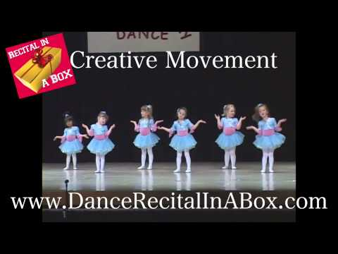 We Are the World Dance Recital Idea - Commercial Clip