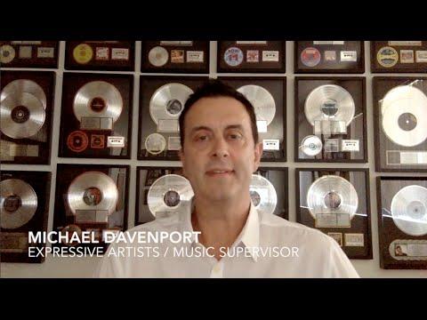 Michael Davenport - Music Supervisor - Expressive Artists