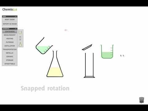 Chemix 20 Tutorial Drawing Lab Apparatus Youtube