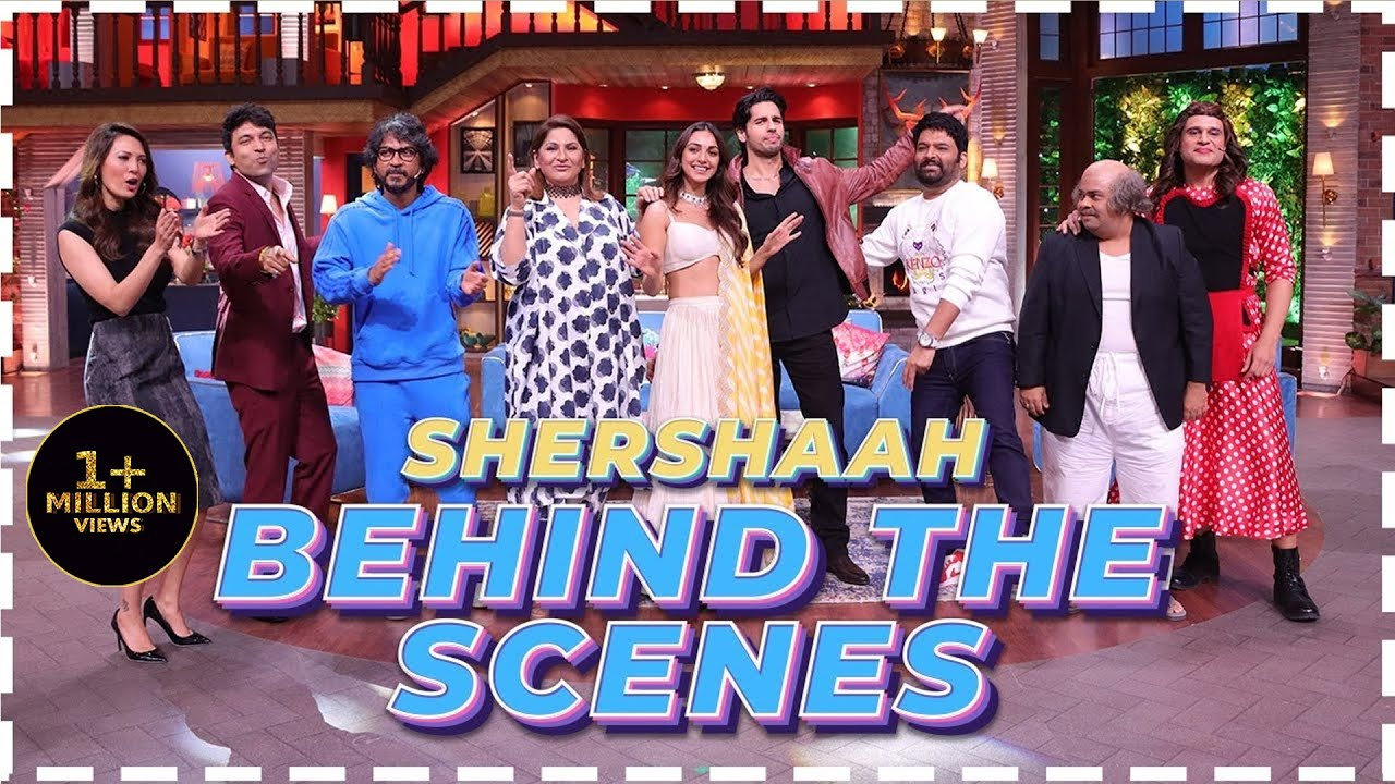 Download Behind The Scenes With The Star Cast Of Shershaah | The Kapil Sharma Show | Sidharth, Kiara
