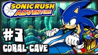 Sonic Rush Adventure (1080p) - Part 3 - Coral Cave