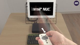 INTEL NUC 미니PC를 리모컨으로 부팅하기
