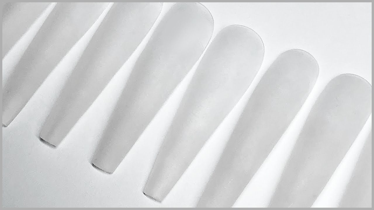 Femi's How To: Extra Long Ballerina Press-On Nails   Customized Full Cover False Nails