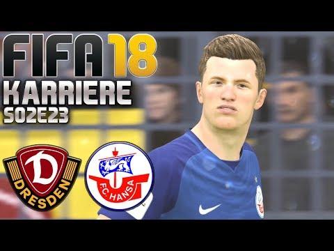 FIFA 18 KARRIERE ⚽ S02E23 • Dynamo Dresden vs. Hansa Rostock • LET'S PLAY