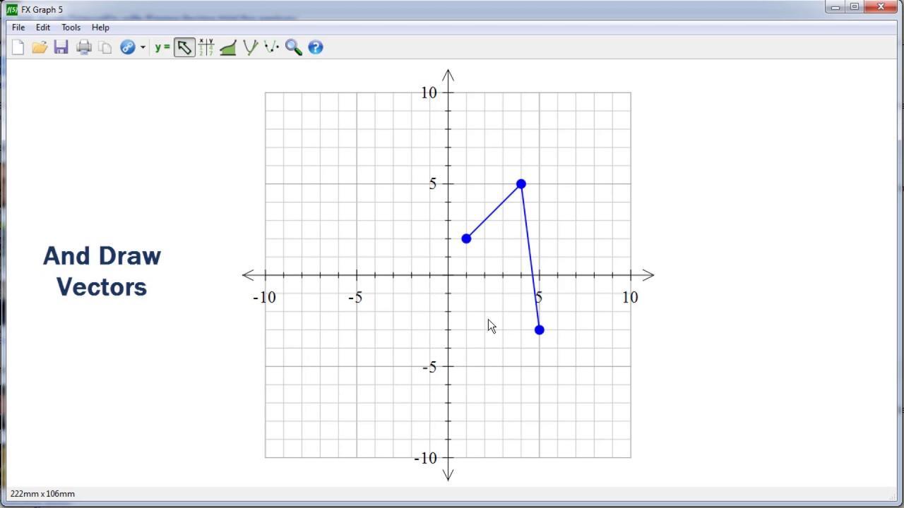 2d Function Graphing In Fx Draw Fx Graph Youtube