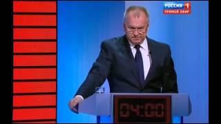Выборы-2016. Дебаты. Касьянов Ложь журнашлюхи в прямом эфире от 24.08.2016