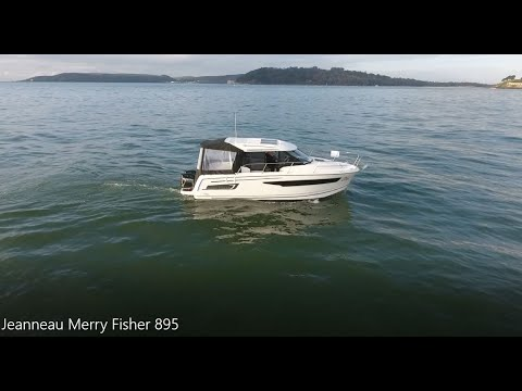 Jeanneau Merry Fisher 895 Drone Footage And Boat Test With Commentary