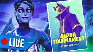 Day 2 of the Fortnite Official Alpha Tournament! (In-Game Solo Event)