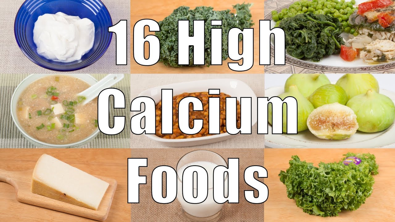 calcium foods highest meals fruits