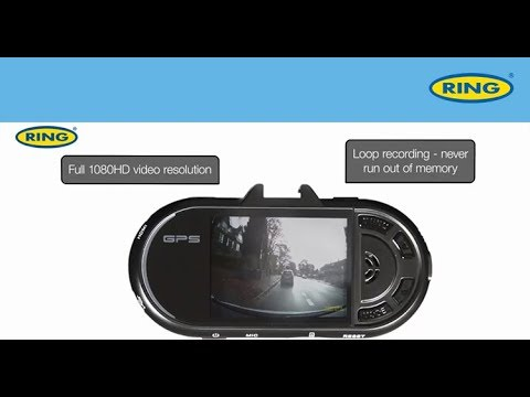 Ring RBGDC200 Full HD GPS Dash Cam