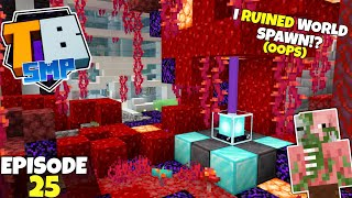 Truly Bedrock S2 Ep25! I RUINED World Spawn! (My Bad!) Bedrock Edition Survival Let's Play!